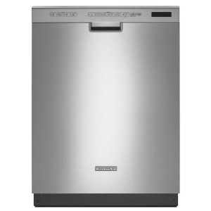 KitchenAid KUDS30CXSS 24 in Stainless Steel Dishwasher