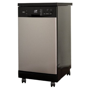 SPT 18-Inch Portable Dishwasher