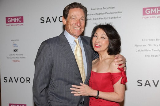 In 2005, Povich co-hosted, Weekends with Maury and Connie, with his wife Connie Chung