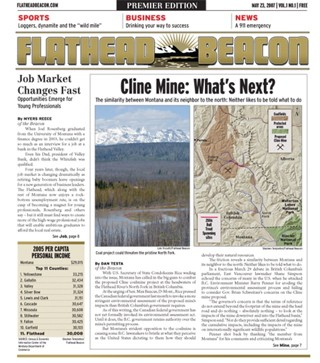 In 2007, he went back to his journalistic roots where he founded the Flathead Beacon, a print and online newspaper based in Montana's Flathead Valley
